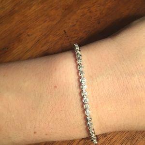 Jewelry - Diamond bracelet 7 inches
